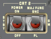 CRT Control Switches
